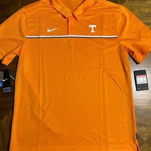 Nike On Field Tennessee Polo Shirt Size Large